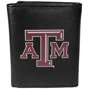 Men's Texas A&M Aggies Leather Tri-Fold Wallet