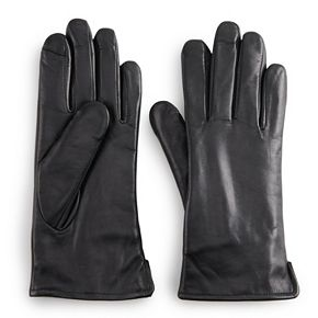 Women's Apt. 9® Leather Glove with Side Vent