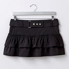 Abbey Dawn Tiered Miniskirt