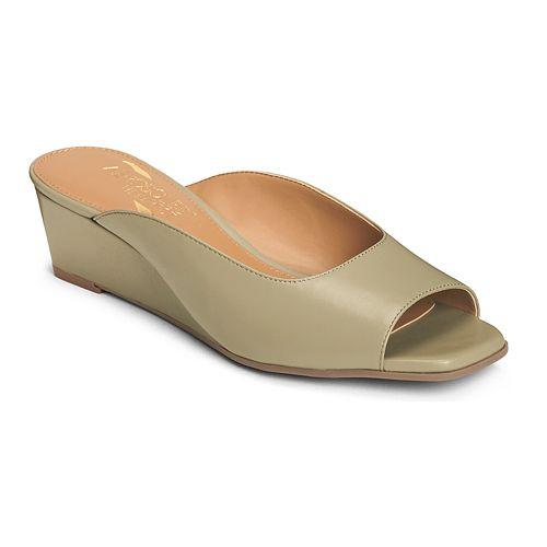 A2 by Aerosoles Magnet Women's Peep Toe Wedges