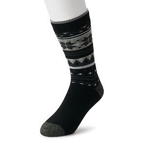 Men's Heat Holders LITE Thermal Fairisle Crew Socks