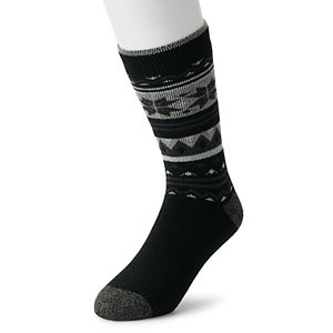 Men's Heat Holders LITE Thermal Fairisle Crew Socks