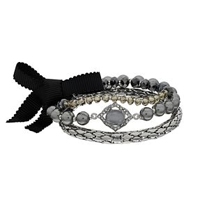 Simply Vera Vera Wang Stone & Bead Stretch Bracelet