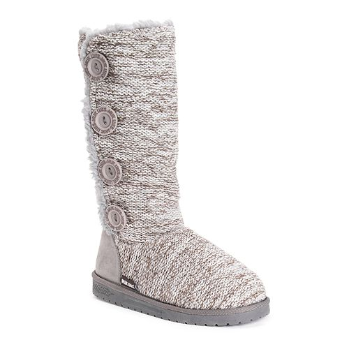 MUK LUKS Liza Women's Water Resistant Mid Calf Boots