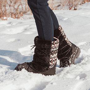 MUK LUKS Massak Women's Waterproof Winter Boots