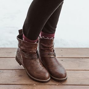 MUK LUKS Tisha Women's Ankle Boots