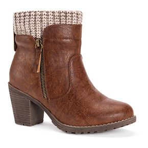 MUK LUKS Gail Women's Ankle Boots