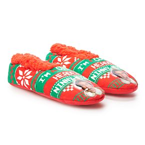 Men's Elf Movie Slipper Socks
