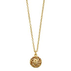 LC Lauren Conrad Filigree Ball Pendant