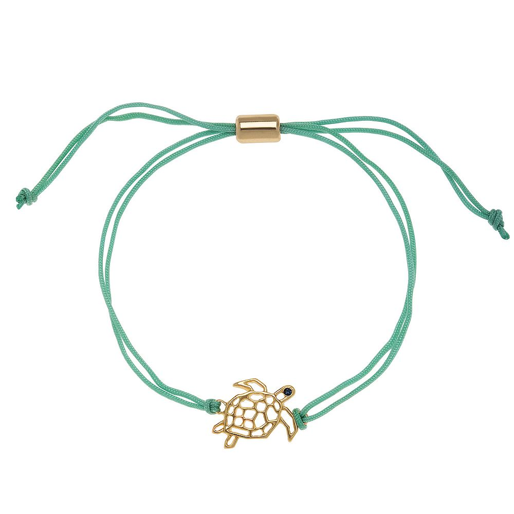 LC Lauren Conrad Gold Tone Adjustable Turtle Bracelet