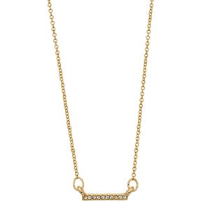 LC Lauren Conrad Pave Bar Necklace