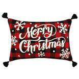 St. Nicholas Square® Multi Merry Christmas Pillow