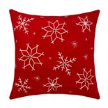 St. Nicholas Square® Embroidered Snowflake Pillow