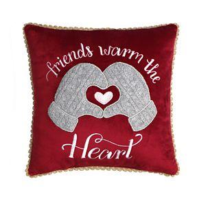 St. Nicholas Square® Mini Red Friends Pillow