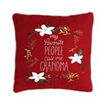 St. Nicholas Square® Mini Red Grandma Pillow
