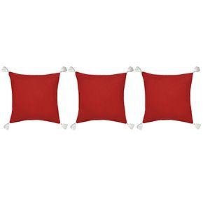 St. Nicholas Square® Red HO HO HO Pillow Set