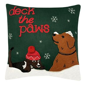 St. Nicholas Square® Mini Green Dog Pillow