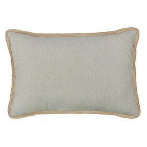 St. Nicholas Square® Grey Noel Pillow