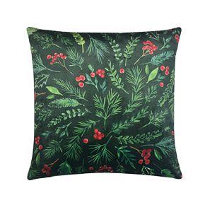 St. Nicholas Square® Green Berries Pillow