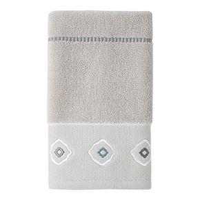 Toledo Stitch Embroidered Hand Towel