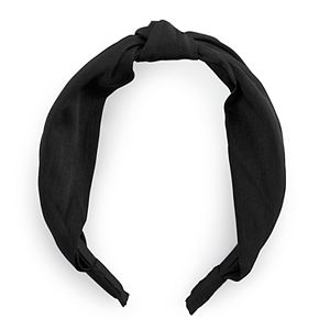 Solid Knot Top Headband