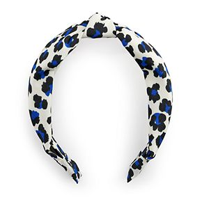 Animal Print Knot Top Headband
