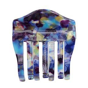 Juniors' Multi Blue Print Hair Clip