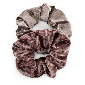 Juniors' Velvet Scrunchies (2 pack)