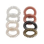 Women's 8 Pack Coil Hair Tie