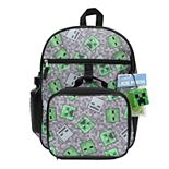 Minecraft 5-Piece Backpack Set