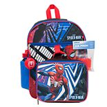Marvel Spider-Man 5-Piece Backpack Set