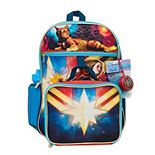 Kids Captain Marvel Mega 5-Piece Backpack Set