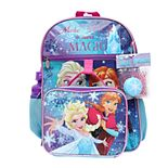 Disney's Frozen Anna & Elsa 5-Piece Backpack Set