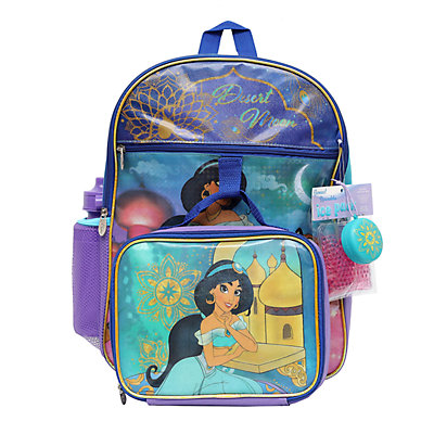 Disney's Aladdin Jasmine 5-Piece Backpack Set