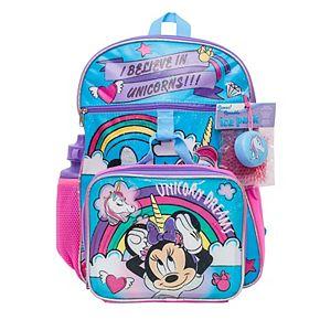 Kids Minnie Mouse Mega 5-Piece Backpack Set