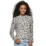 Juniors' Mudd® Long Sleeve Pullover Top