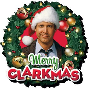 GAMAGO Christmas Vacation Merry Funky Chunky Magnet