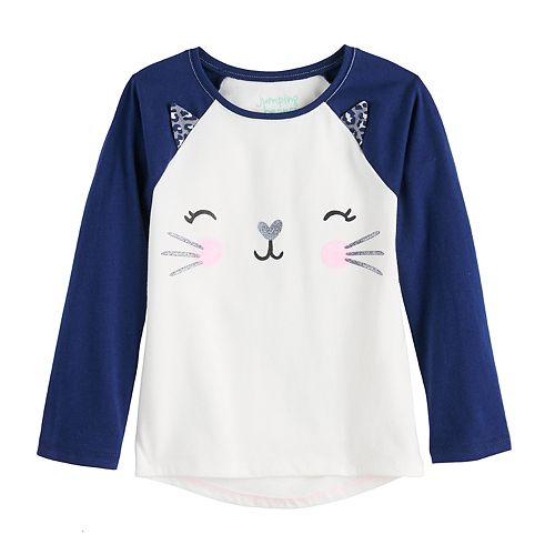 Toddler Girl Jumping Beans® Graphic High-Low Hem Top