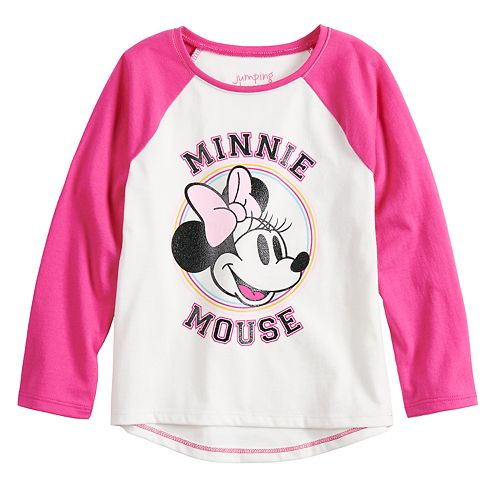 Disney's Minnie Mouse Toddler Girl Raglan Tee by Jumping Beans®