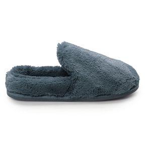 Women's LC Lauren Conrad Winter Home Faux Fur Clog Slippers