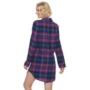 Women's SONOMA Goods for Life Flannel Sleep Shirt