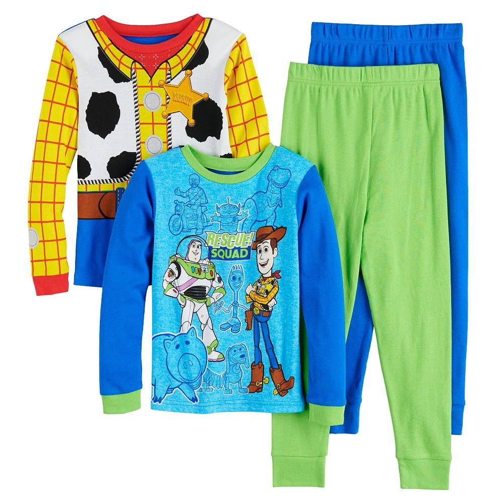 Boys 4-10 Disney/Pixar's Toy Story 4 Rescue Squad 4-Piece Pajama Set