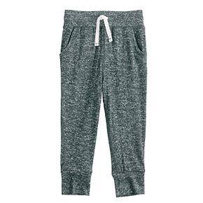 Toddler Girl Jumping Beans® Marled Knit Jogger Pants
