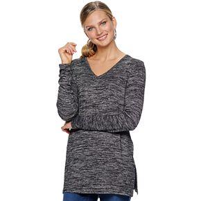 Women's Apt. 9® Essential Long Sleeve Tunic Tee