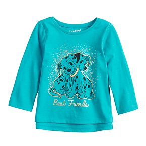 Disney's 101 Dalmatians Baby Girl Foiled Graphic Tee by Jumping Beans®