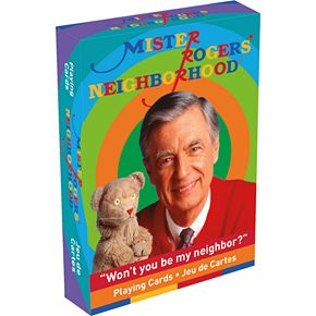 GAMAGO Mister Rogers Playing Cards