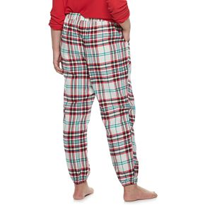 Plus Size SONOMA Goods for Life? Cuffed Flannel Pajama Pants