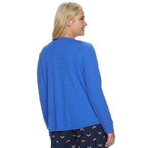 Plus Size SONOMA Goods for Life? Henley Pajama Tee