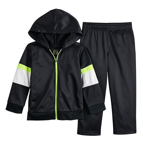 Toddler Boy Jumping Beans® Colorblocked Zip Hoodie & Pants Set
