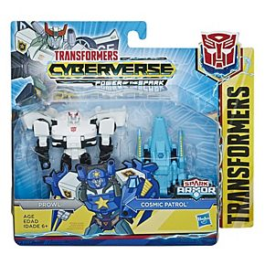 Boy's Transformers Cyberverse Spark Armor Prowl Action Figure by Hasbro
